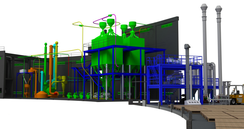 Process Solutions - 3D factory design