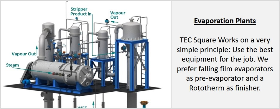Engineering Solutions - Evaporation Plant