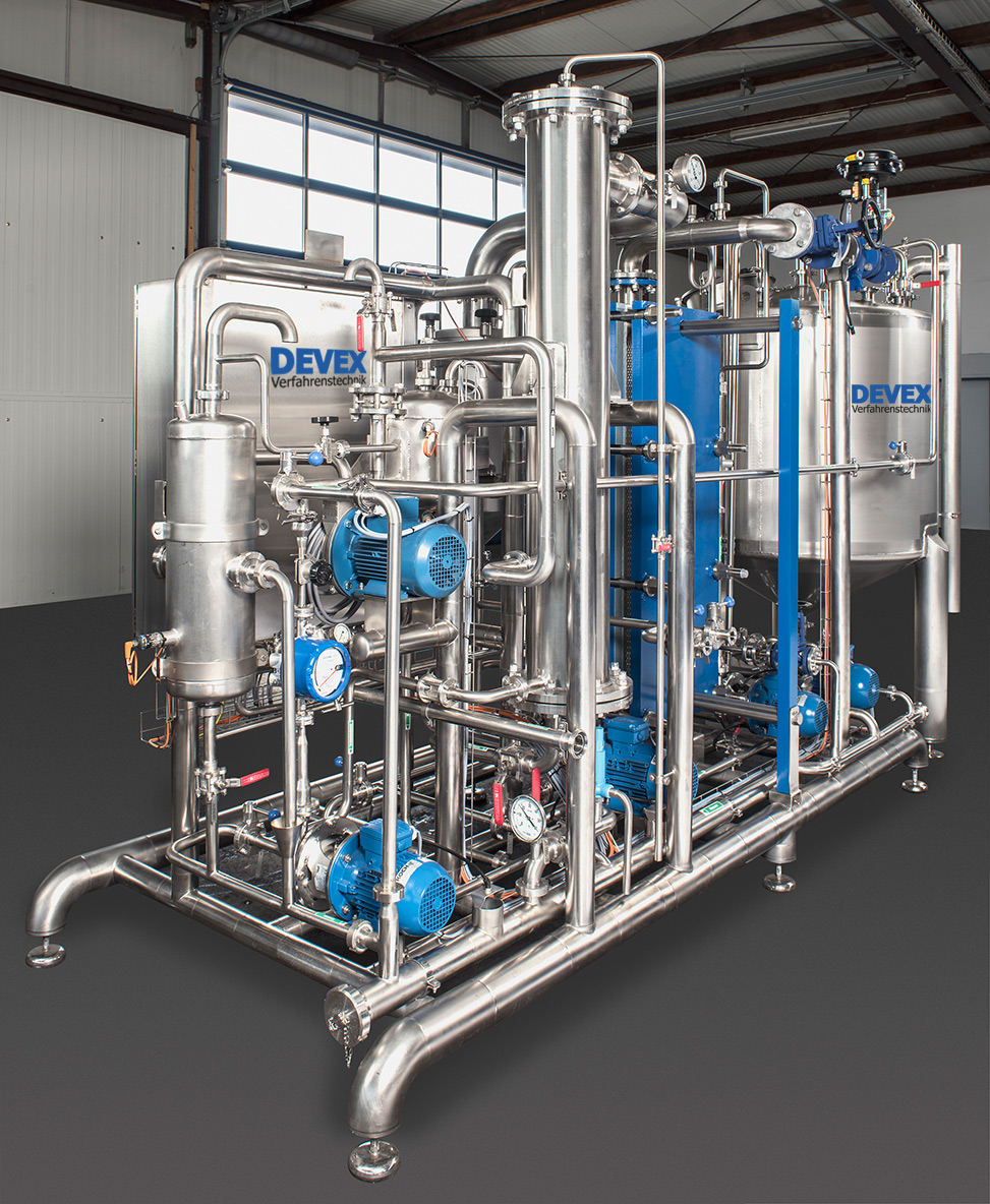 DEVEX Evaporation Plants