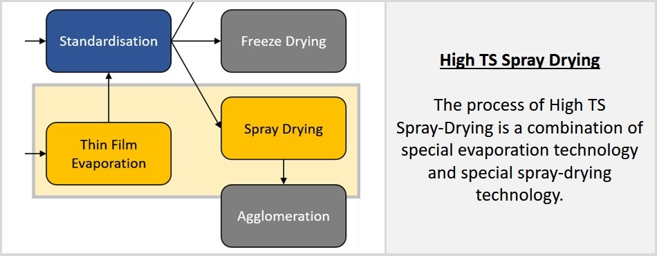 Engineering Solutions - High TS Spray Drying