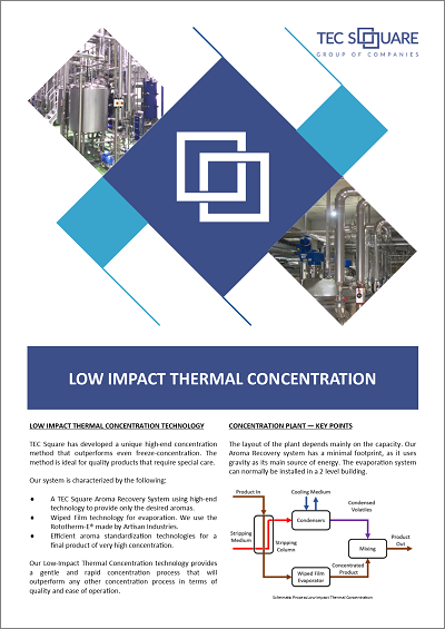 Low Impact Thermal Concentration
