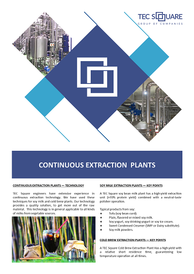 Brochure Continuous Extraction
